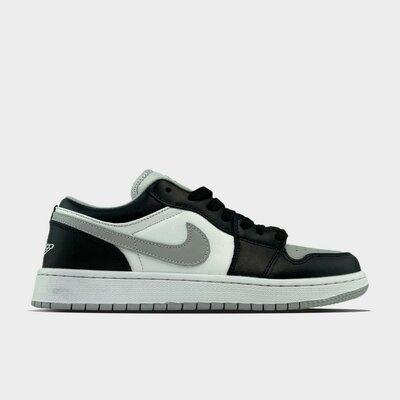 Кроссовки Nike Air Jordan 1 Low Grey White Black