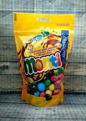 Арахис в сахарной глазури Monti 240 грамм Польша