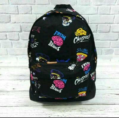 Стильный молодежный рюкзак с принтом. для путешествий, тренировок, учебы