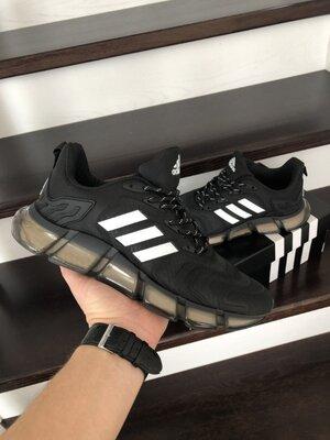 Кроссовки мужские Adidas Climacool Vento Shoes, черные с белым
