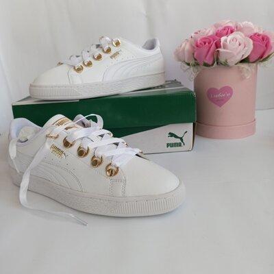 белые кроссовки puma оригинал 40 размер