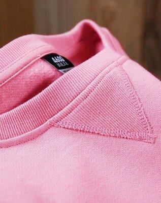 Розовый свитшот, худи, толстовка, пайта