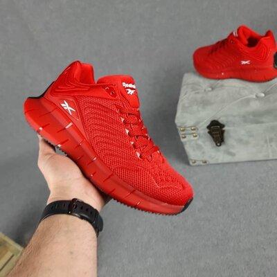 Кроссовки Reebok Zig Kinetica, красные, 10421