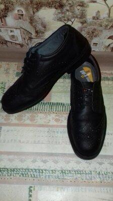 Туфли кожаные рабочие Goliath shock absorber 31 см