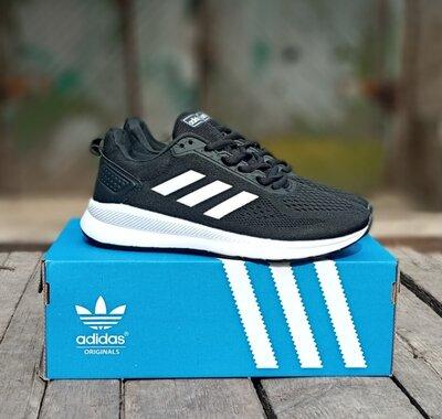 Продано: Мужские кроссовки Adidas Galaxy черные.весенние,сетка