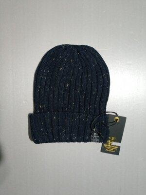Распродажа Вязаная шапка с отворотом унисекс итальянского бренда Catbalou Оригинал Европа