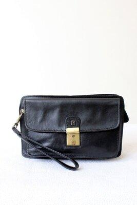 Винтажная мужская сумка барсетка.