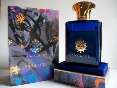 Amouage Interlude Man Оригинал Распив и Отливанты аромата Нишевая парфюмерия