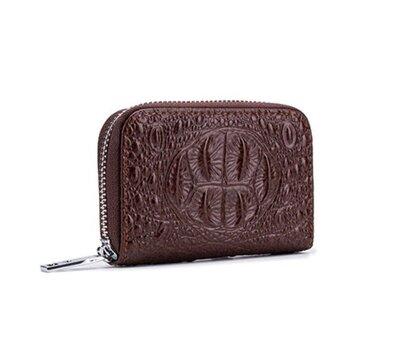 новый стильный кожаный кошелек картхолдер на молнии визитница из натуральной кожи