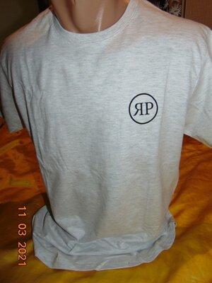 Катоновая стильная футболка b&c.м-л .