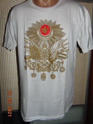 Катоновая стильная футболка Марокко .м .унисекс