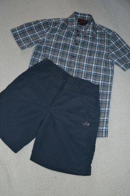 Треккинговая рубашка тенниска Mammut р.S