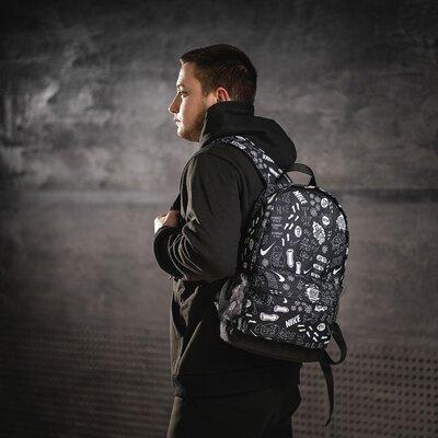 рюкзак с принтом Nike боковые карманы