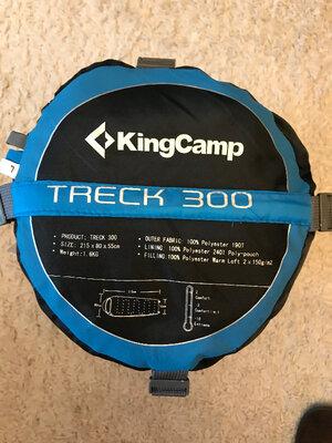 Спальний мешок KingCamp Treck 300.