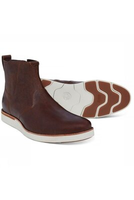 Новые Кожаные ботинки Timberland Preston Hills Chelsea Оригинал р.43,5/29 см