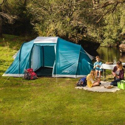 BW Палатка 68094 шестиместная, с навесом