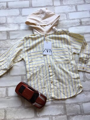 Детская рубашка на мальчика zara