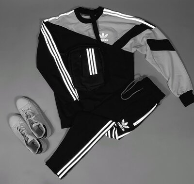 Спортивный костюм Свитшот Спортивные штаны , Рефлектив
