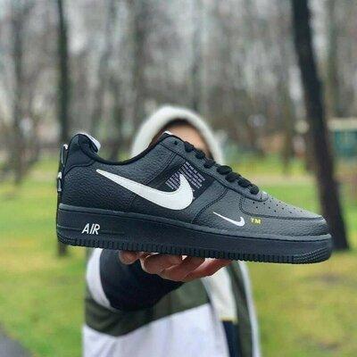 Кроссовки Мужские Nike air force f1 Натуральная кожа