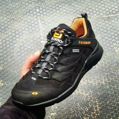 Кроссовки Мужские Salomon Supercross Gtx Натуральная кожа