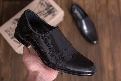 Мужские кожаные туфли AVA De Lux Код ava 24 879 грн В наличии 40,41,42,43,44,45 рр. Материал вер