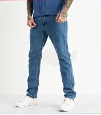 Мужские голубые котоновые джинсы Likgass