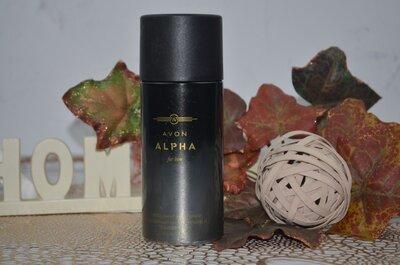 дезодорант-спрей для мужчин Avon Alpha For Him 150 ml