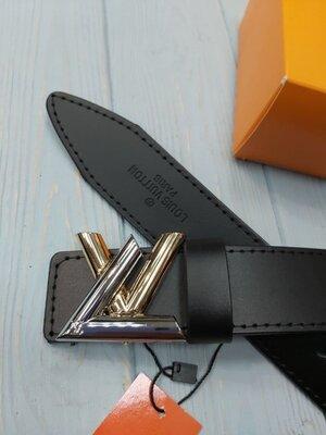 Кожаный ремень в стиле Louis Vuitton Луи Виттон унисекс