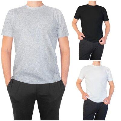 Новинка. Стильные мужские однотонные футболки. Люкс качество. Скидки 46-60р
