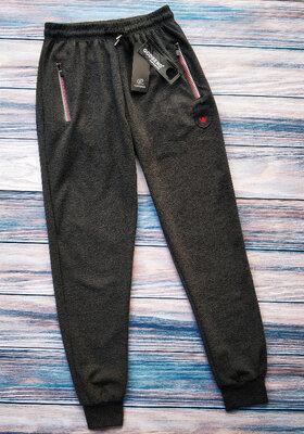 Мужские комфортные трикотажные штаны,спортивные штаны на манжете,см.замеры в описании