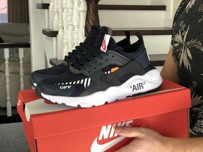 Мужские кроссовки Nike Air Huarache темно-синие