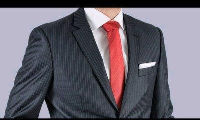 Мужской однобортный костюм полный 50 размер шерсть Tailor&son Италия