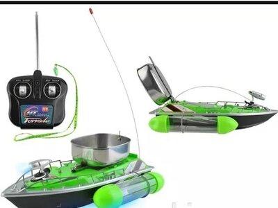 Кораблик рибальське човен для завезення прикормки і снастей. Польща. Ar.