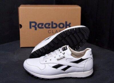 Мужские кроссовки Рибок Натуральная кожа 40-45 р. Эти кроссовки всегда хорошо носятся и стильно см