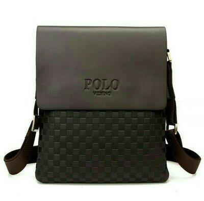Мужская сумка через плечоpolo videng, поло. стильная качественная сумка для мужчин