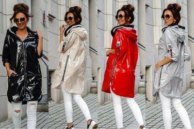 Куртка лак 4 цвета 42 - 52