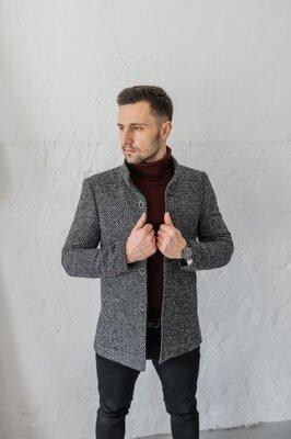 Чоловіче пальто Люксембург стойка