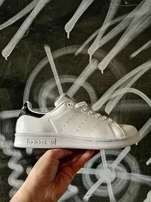 Кроссовки кеды сникерсы кожа adidas stan smith адидас