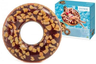 Круг надувний Intex Пончик