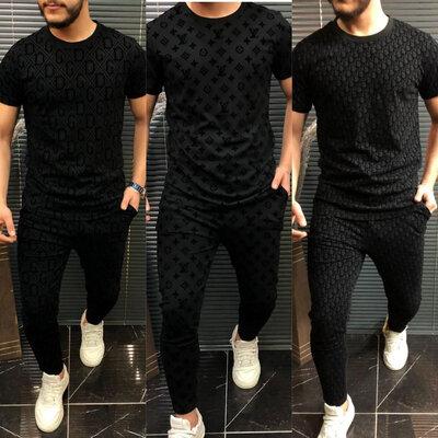 Брендовый комплект футболка штаны