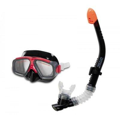 Набор для плавания Трубка и маска Intex