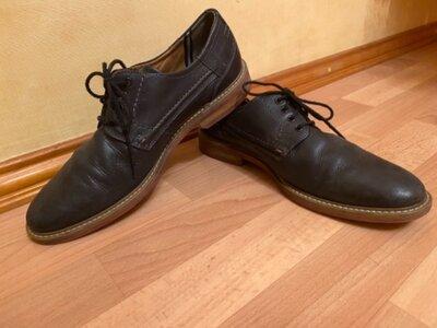 Кожаные мужские туфли Fretz men размера 43