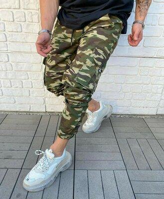 Мужские молодежный комуфляжные джинсы спортивки джогеры узкачи штаны брюки подростковые