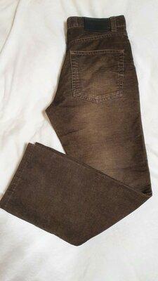 Джинсы мужские брюки вельвет классика коричневые Mexx