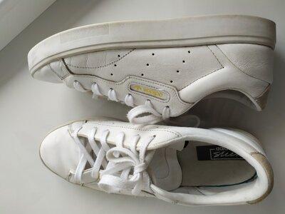 Кожаные кроссовки Adidas Sleek. Оригинал
