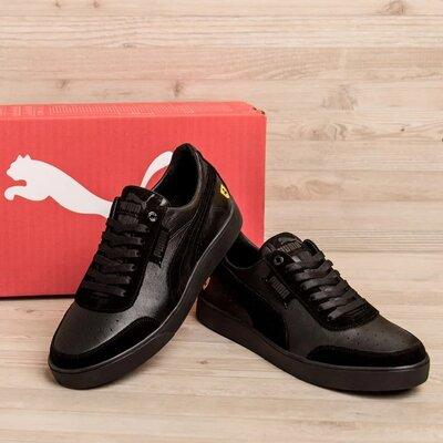 Чоловічі шкіряні кросівки Puma Код PC-1