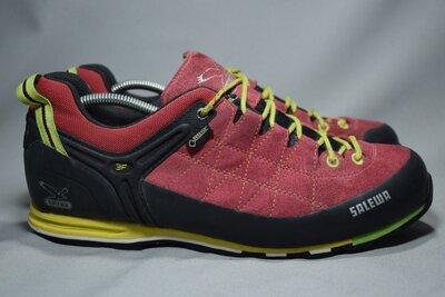 Salewa MTN Trainer GTX Gore-Tex Pelle кроссовки мужские трекинговые непромокаемые Оригинал 44 р/29см