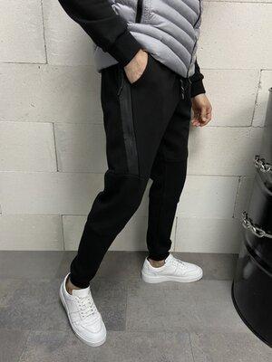 Спортивные чёрные штаны 19781