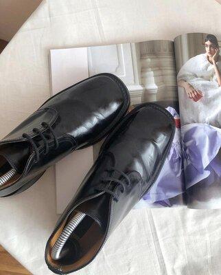 Туфли ботинки дерби next made in england рр 40
