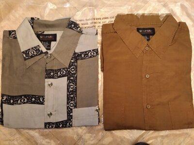Шелковые мужские рубашки новые .